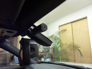 BMW(E90)にドライブレコーダーを取り付け
